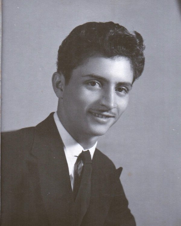My father in his early 20s – around 1946