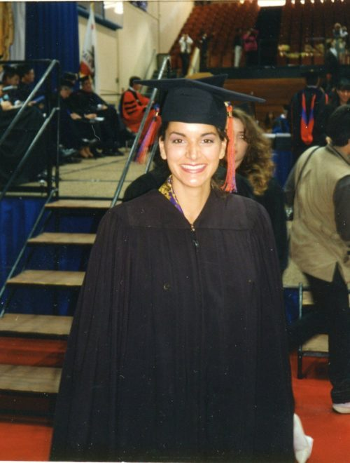 Laurene December 11, 1992- Pepperdine University Graduation
