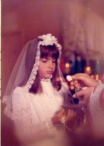 Laurene 1st Holy Communion 1974 2