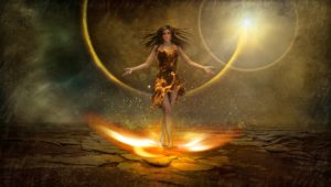 Blog - Thy Will Be Done: Fire Goddess